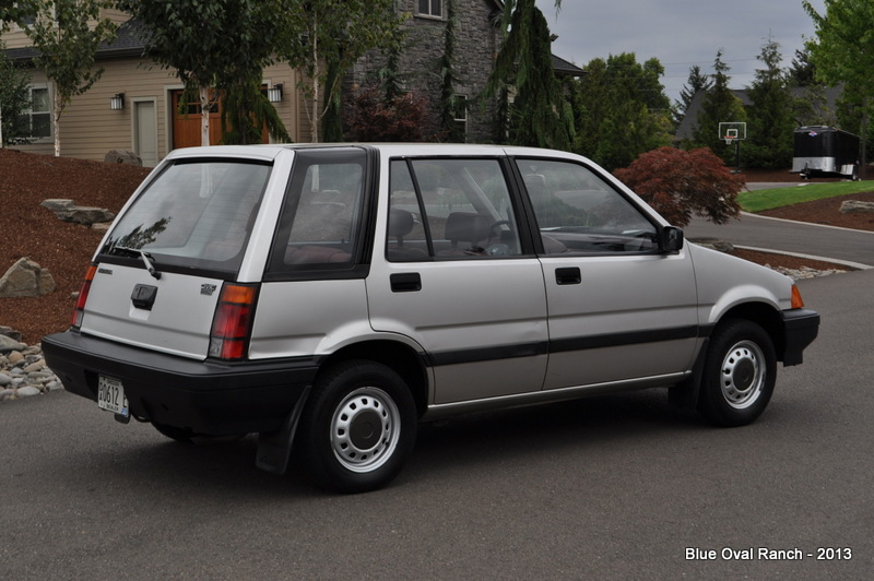 1985 honda civic wagovan survivor daddy types. Black Bedroom Furniture Sets. Home Design Ideas
