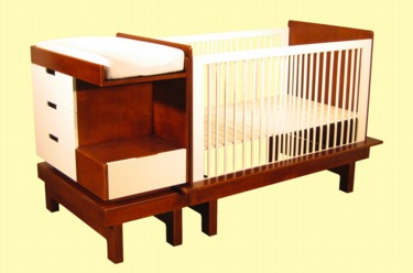 convertible changing kids in baby and changer table crib combo with portofino cribs