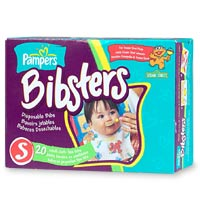 pampers bibsters