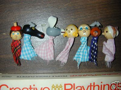 Nice Timing Creative Playthings Puppets On Ebay Too