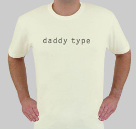 daddy type t-shirt, so copyrighted it's CRAZY
