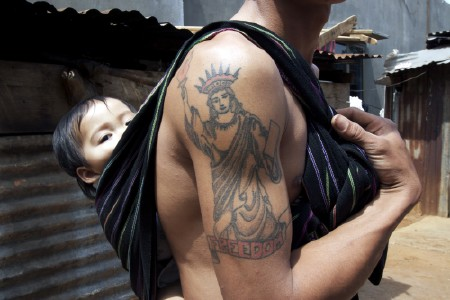 Vietnamese Dad, Sling, Tattoo
