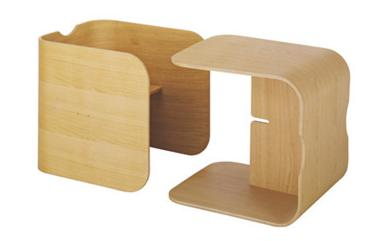 Interlocking Stool Cube, This Time By Habitat