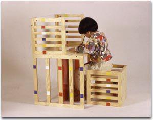 Mod Modular Mondrian Y Kids Furniture By Hiroki Takada