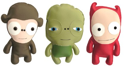 Not Ugly Dolls From House Of Ingri Daddy Types