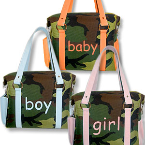 satisty your inner Hollywood wife with an Intuition camo bag