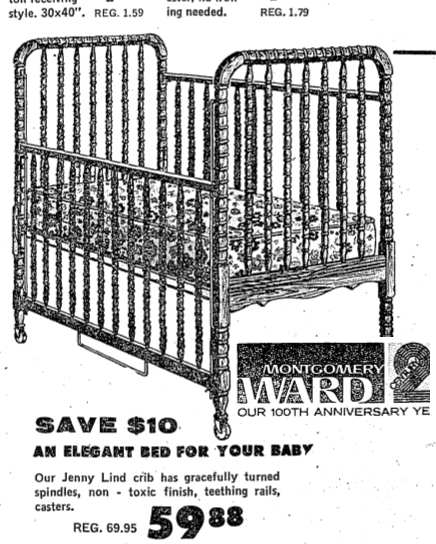 Million dollar baby davinci jenny lind crib bed mattress sale - Jenny lind replacement parts ...