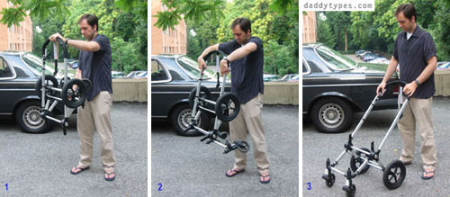how to open a bugaboo, as explained by a NASA scientist, image: daddytypes.com