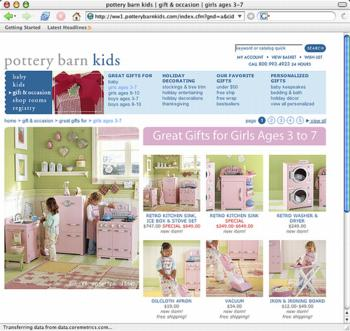 pottery barn pink nightmare