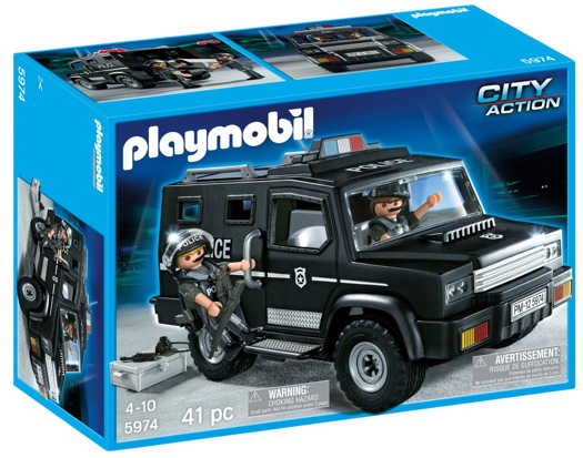 Goede Occupy This: Playmobil Special Forces Unit - Daddy Types RR-81