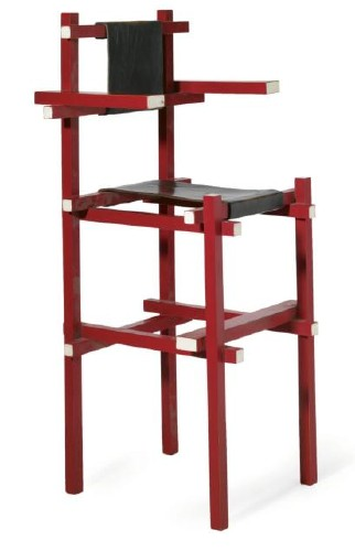 Late Model Rietveld High Chair At Sotheby s Daddy Types