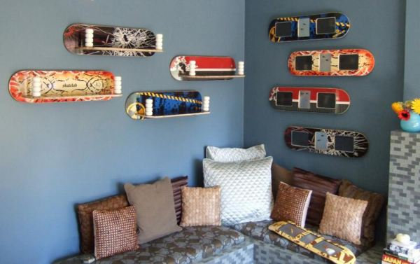 30 best images about hyller av skateboard on pinterest - Skater Bedroom Ideas