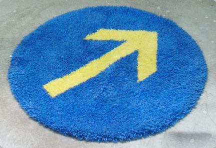 Ikea Arrow Rug By Sophie Bouy Daddy Types