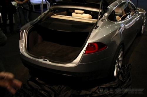 Tesla Model S Sedan Concept