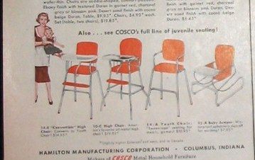 One Of These Vintage Cosco Chairs Is Not Like The Others & One Of These Vintage Cosco Chairs Is Not Like The Others - Daddy Types