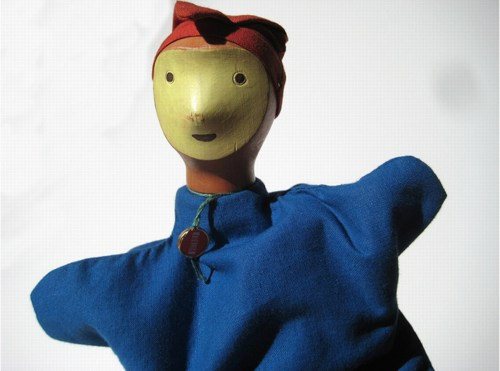Do You Know Me? Antonio Vitali Hand Puppet - Daddy Types