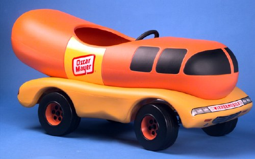 so you wish you had an oscar mayer wienermobile pedal car. Black Bedroom Furniture Sets. Home Design Ideas