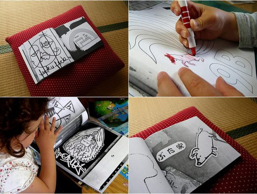Tokyo Street Art Coloring Pages By A Small Lab - Daddy Types